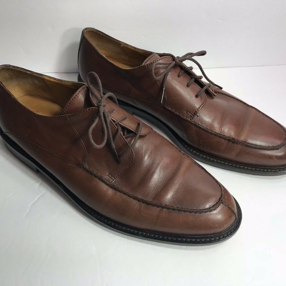 Johnston & Murphy Other - Mens Johnston & Murphy Brown Leather Shoes 10.5